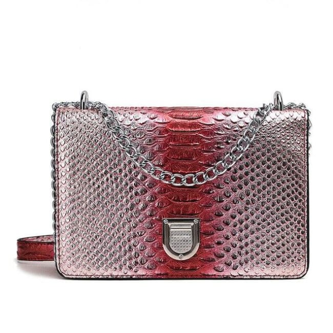 Sac SORRENTE de la COLLECTION INNAMORATA - rouge / petit - sacs - La boutique by c.