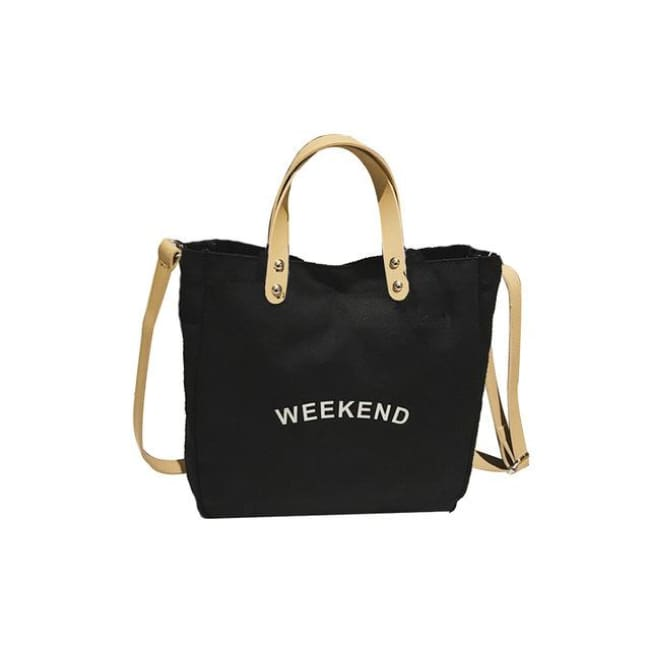 Sac WEEK-END de la COLLECTION DUO PARFAIT - noir / grand - sacs - La boutique by c.