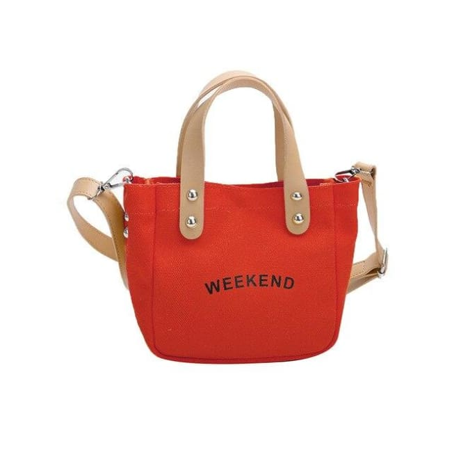 Sac WEEK-END de la COLLECTION DUO PARFAIT - rouge / grand - sacs - La boutique by c.