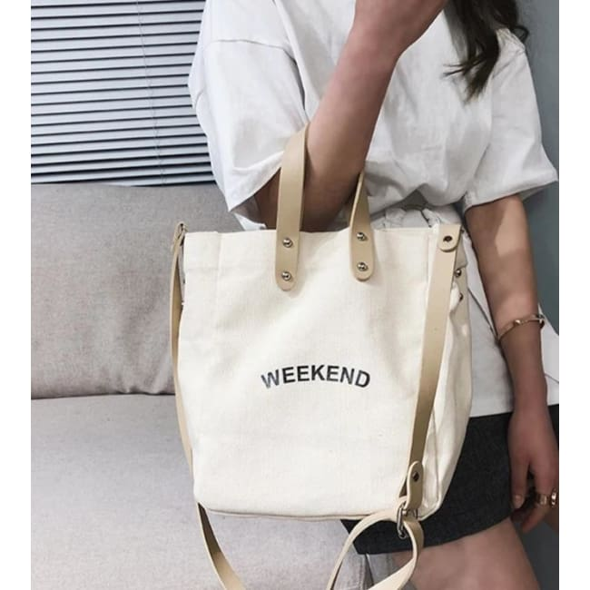 Sac WEEK-END de la COLLECTION DUO PARFAIT - sacs - La boutique by c.