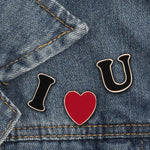 Set de pins I LOVE U - Pins - La boutique by c.