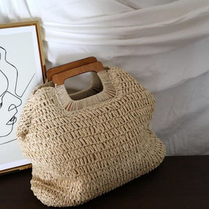 Shopping bag SUMMER BEACH de la COLLECTION BAHIA - beige - COLLECTION BAHIA sacs - La boutique by c.