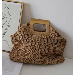 Shopping bag SUMMER BEACH de la COLLECTION BAHIA - caramel - COLLECTION BAHIA sacs - La boutique by c.