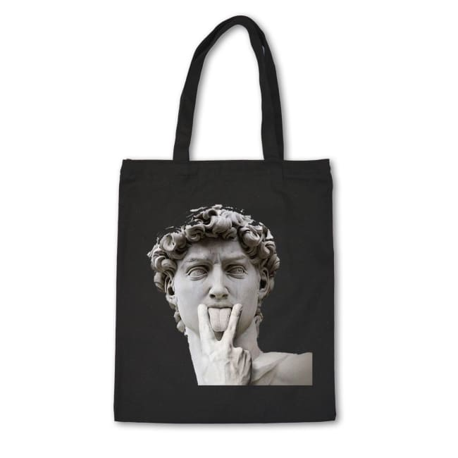 Tote bag ART FASHION - NOIR / A - sacs - La boutique by c.