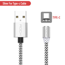 Load image into Gallery viewer, Fast Charge Magnetic Cable Type C Micro Usb