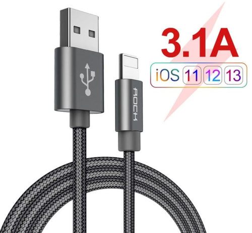 Cable for iPhone 3.1A Fast Charger