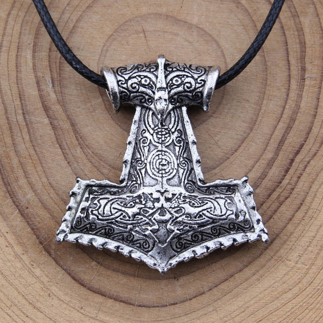 Vikings  Necklace Thor's Hammer