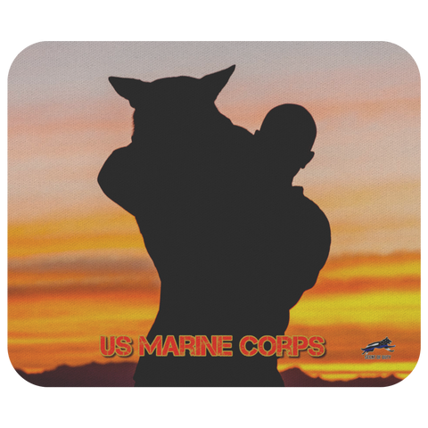 US Marine Corps MWD Team 4 Mouse Pad