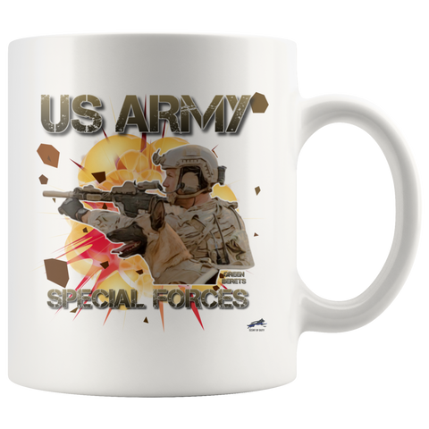 US Army Special Forces D2 Mug