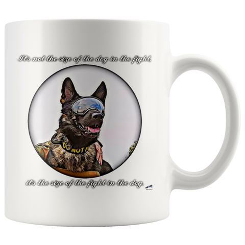 It's not the size of the dog Mug