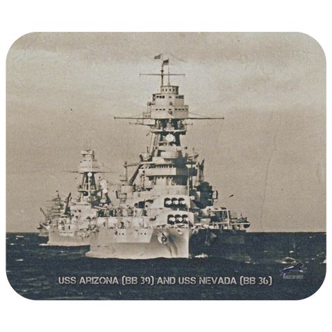 USS Arizona and USS Nevada