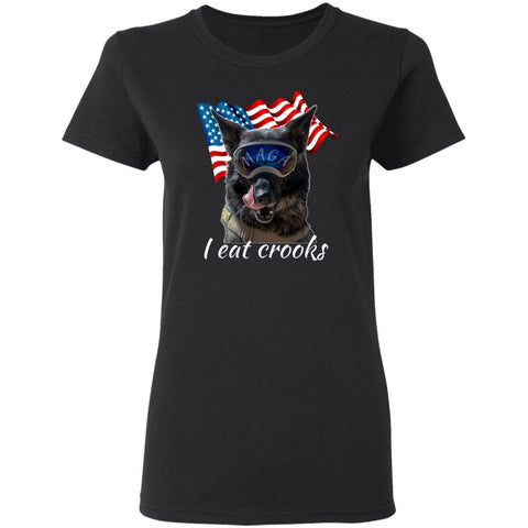 Maga Dog Ladies T-Shirt