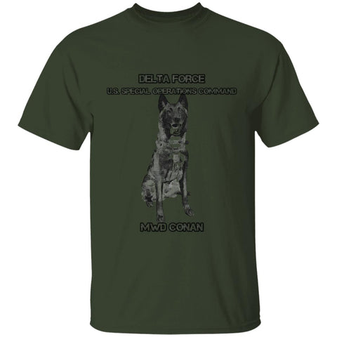 Delta Force US Special Operations Command MWD Conan T-Shirt