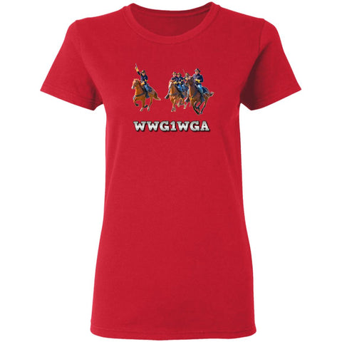 WWG1WGA Ladies T-Shirt