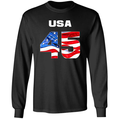 USA 45 LS T-Shirt