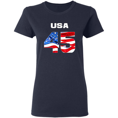 USA 45  Ladies T-Shirt