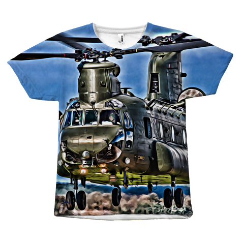 Boeing CH-47 Chinook All-Over Print T-Shirt