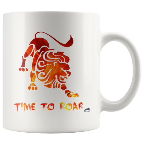 Time to Roar Mug