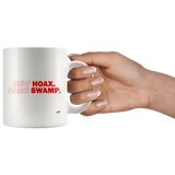 New Hoax Same Swamp MAGA Mug