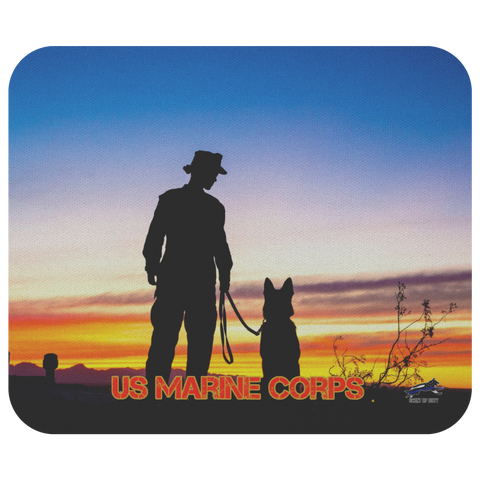 US Marine Corps MWD Team 2 Mouse Pad