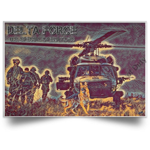 Delta Force - Gear Up Poster White / 18 X 12 Housewares
