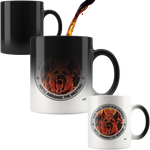 God will Judge our Enemies Magic Mug