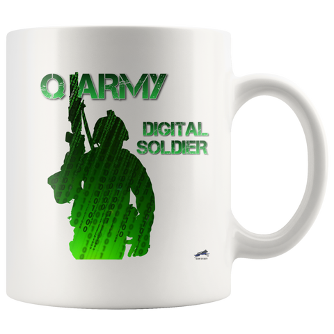 Q Army - Digital Soldier Mug