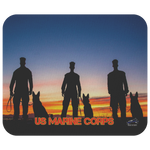 US Marine Corps MWD Unit Mouse Pad