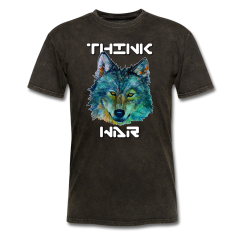 Think War Unisex T-shirt - mineral black