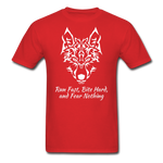 Run Fast T-shirt - red