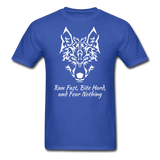 Run Fast T-shirt - royal blue