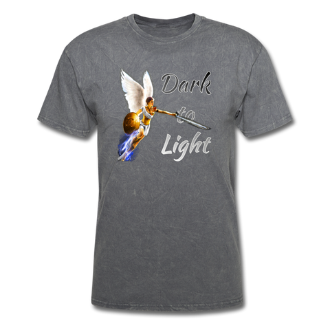 Dark to Light T-Shirt - mineral charcoal gray
