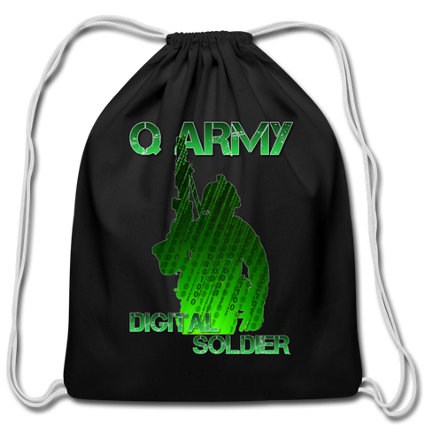 Q Army - Digital Soldier Handstring Bag - black