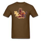 Fight T-Shirt - brown