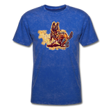 Fight T-Shirt - mineral royal