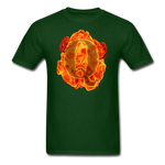 Q on Fire T-Shirt - forest green