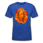 Q on Fire T-Shirt - mineral royal
