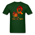 Time to Roar Q T-Shirt - forest green