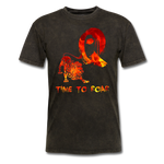 Time to Roar Q T-Shirt - mineral black