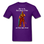 Full Armor of God T-Shirt 2 - purple