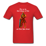 Full Armor of God T-Shirt 2 - red