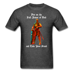 Full Armor of God T-Shirt 2 - heather black
