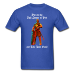 Full Armor of God T-Shirt 2 - royal blue
