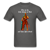 Full Armor of God T-Shirt 2 - charcoal