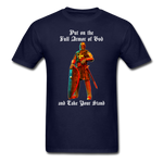 Full Armor of God T-Shirt 2 - navy