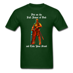 Full Armor of God T-Shirt 2 - forest green
