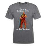 Full Armor of God T-Shirt 2 - mineral charcoal gray