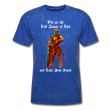Full Armor of God T-Shirt 2 - mineral royal
