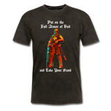 Full Armor of God T-Shirt 2 - mineral black