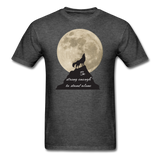 Wolf Strong T-Shirt - heather black